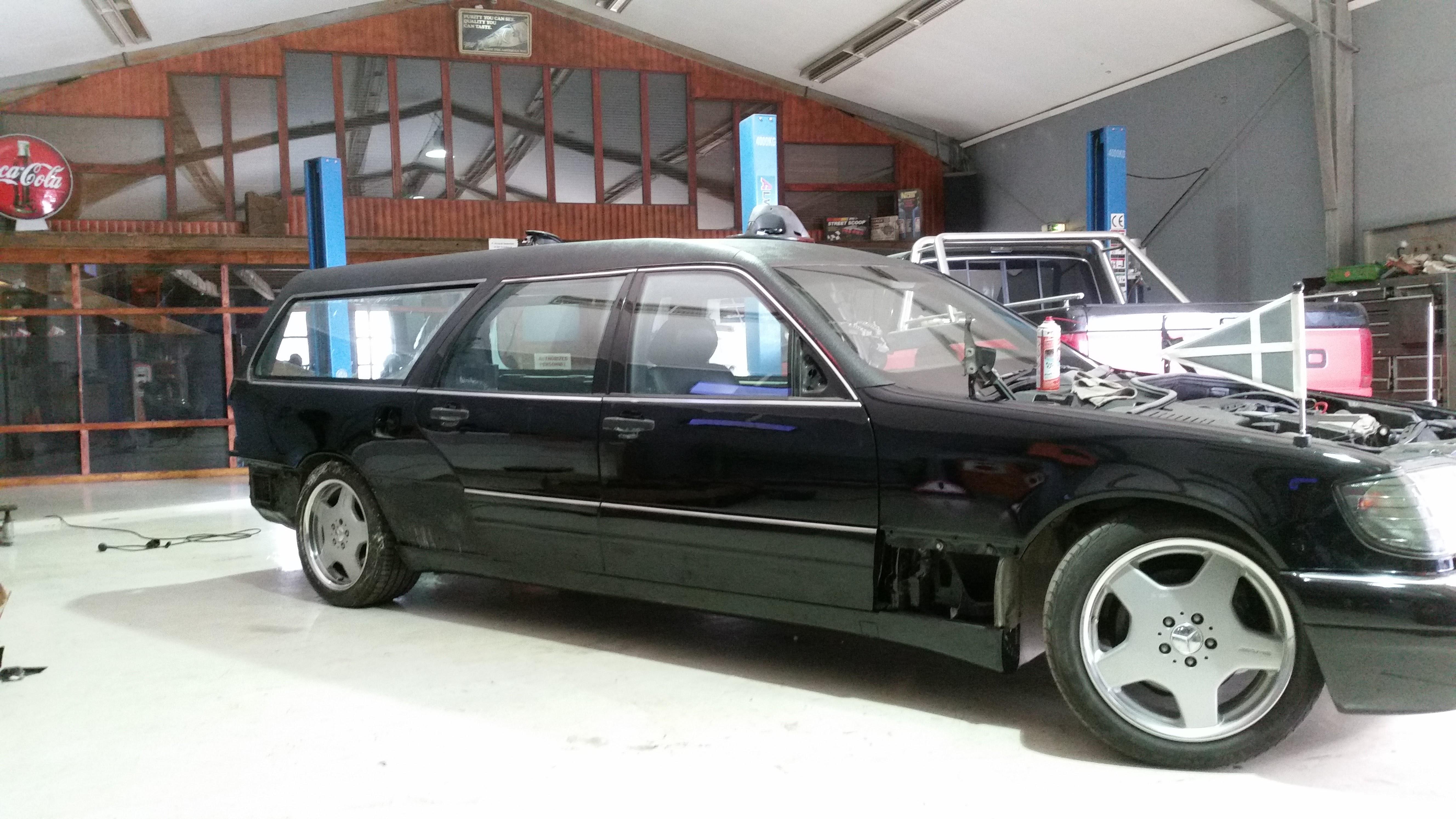 Mercedes W S Klassse Kombi on 1997 Dodge B3500